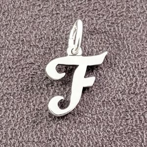James Avery Initial Letter F Charm